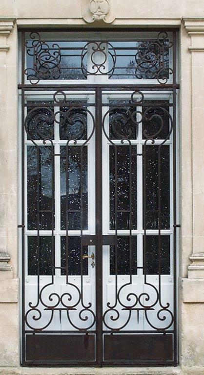 Bien-aimé Grilles en ferronnerie : grilles de défense, de clôture, de  HU15