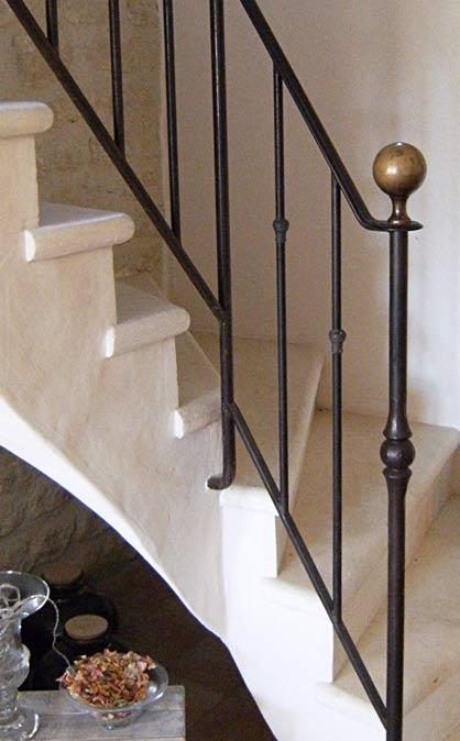 rampes en ferronnerie main courante rampe droite rampe d billard e. Black Bedroom Furniture Sets. Home Design Ideas