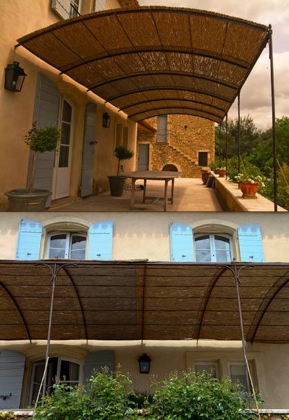 Tonnelles en ferronnerie en Provence : tonnelle réalisée sur mesure